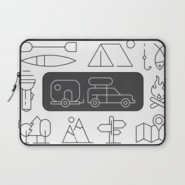 Camping Highlights Laptop Sleeve