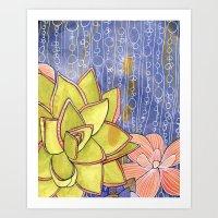 Succulent One Art Print