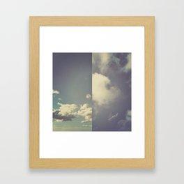 Half and Half - 2 Framed Art Print