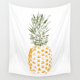 Pineapple I Wall Tapestry