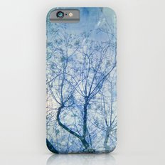 Blue Winter Blossoms  iPhone 6s Slim Case