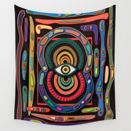 Evil Eye Wall Tapestry