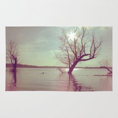 Peaceful Lake! Rug