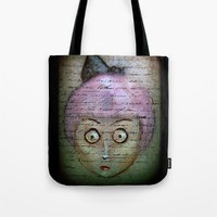 writer Tote Bags featuring Ghost Writer by Terrestre