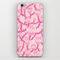 Pink Thorn iPhone Skin