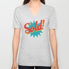 Sold! Unisex V-Neck