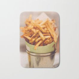 Fries in French Quarter, New Orleans Bath Mat