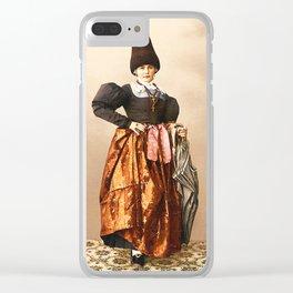 European peasant Clear iPhone Case