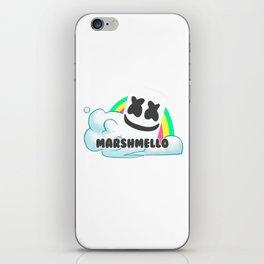 Rainbow marshmello iPhone Skin