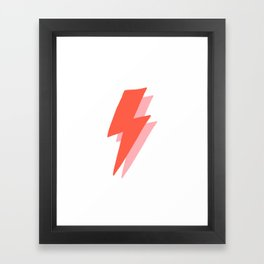Thunder Framed Art Print