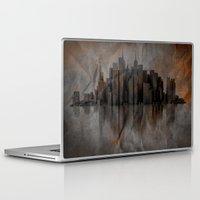 metropolis Laptop & iPad Skins featuring Metropolis by Robin Curtiss