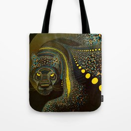 Dark Jaguar Tote Bag