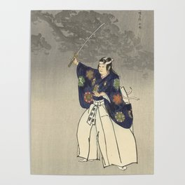 1920s Japanese Art Poster