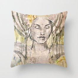 Invite stillness Throw Pillow