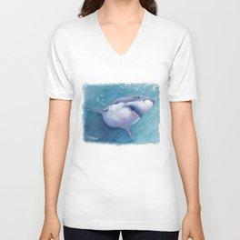 Great White Shark Unisex V-Neck