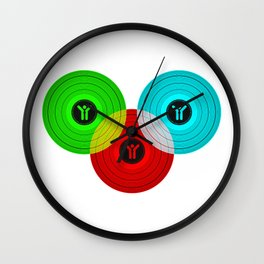 Vinyls Wall Clock