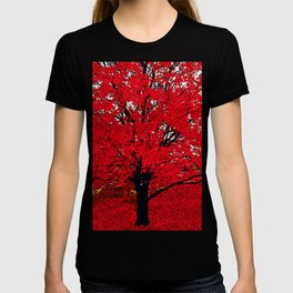 TREE RED T-shirt