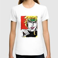 jojo T-shirts featuring Dio Brando from anime/ manga Jojo Bizarre Adventures by Starostina Alexandra (Himura-mechniza)