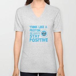 5 Science Geek Nerd Mathematics Algebra funny Tshirt new Unisex V-Neck