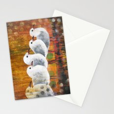 Watching Stationery Cards