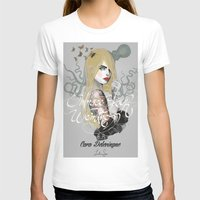 cara T-shirts featuring Cara by lalinsan