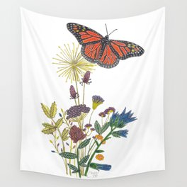 The Monarch's Reign Wall Tapestry