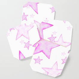 PINK STARS Coaster