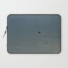 Morning Blue: Mallard Laptop Sleeve