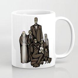 Family portrait of the Addams family Coffee Mug