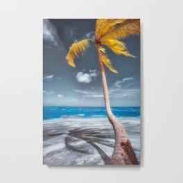Summer Beach Metal Print