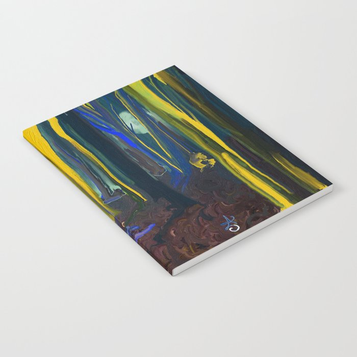 Stay Wild Yellow Moon Notebook