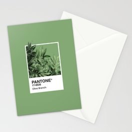 Pantone Series – Olive Branch Stationery Cards