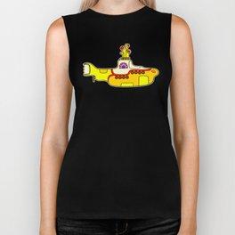 Yellow Submarine - Pop Art Biker Tank