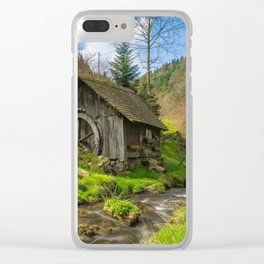 Black Forest Mill Clear iPhone Case