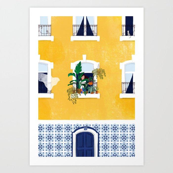 Lisbon girl Kunstdrucke