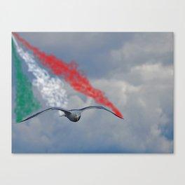 freccia Tricolore Canvas Print