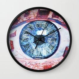 CLOCK EYE (destruction) Wall Clock