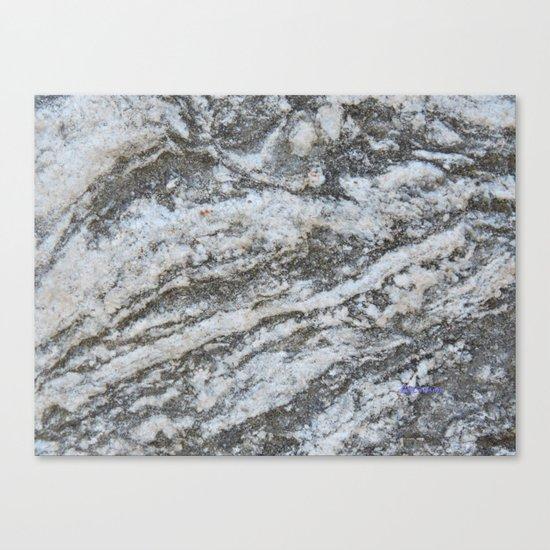 TEXTURES -- Riverstone #1 Canvas Print