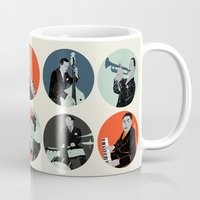 jazz Mugs featuring Jazz  by Prelude Posters