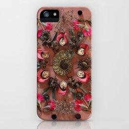 February Mandala II iPhone Case