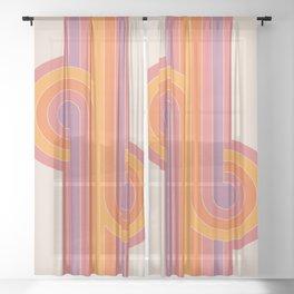 Boca Looper Sheer Curtain