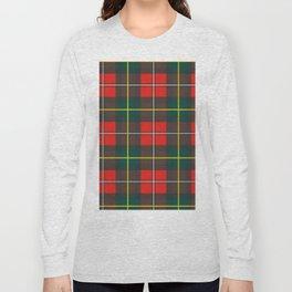 Minimalist Boyd Tartan Modern Long Sleeve T-shirt