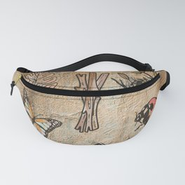 Aesthate - someone with deep sensitivity to the beauty of art or nature Fanny Pack
