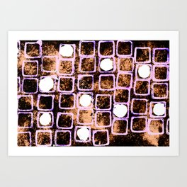 Nuclear Night Art Print
