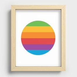 Superfuture Original 6-Color Pride Recessed Framed Print