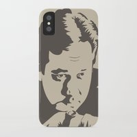 bill iPhone & iPod Cases featuring Bill Hicks by Finlay McNevin