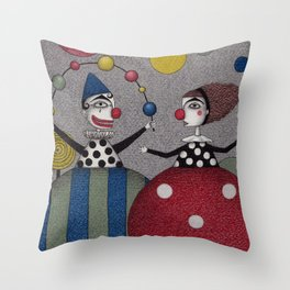 Ball Game (2) Throw Pillow