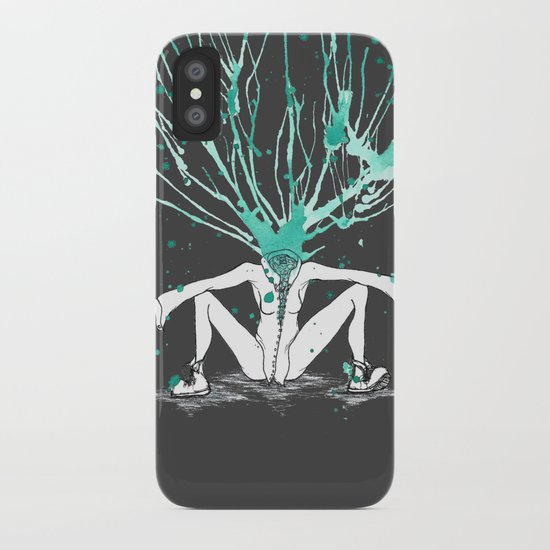 All Riled Up & Silent iPhone Case