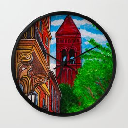 Duke Street Steeple Wall Clock