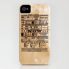Rocky Raccoon Slim Case iPhone (4, 4s)
